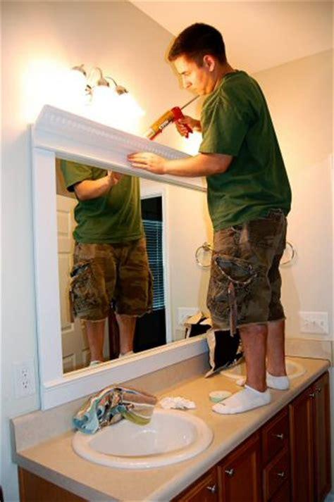 frame  mirror   dramatic upscale