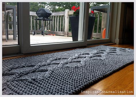 Diy Knit Rug by Inspiration And Realisation Diy Fashion Diy