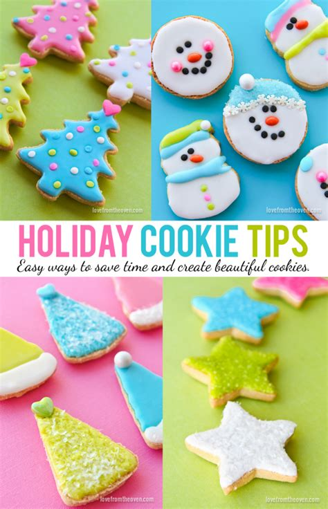 holiday cookie decorating tips love from the oven
