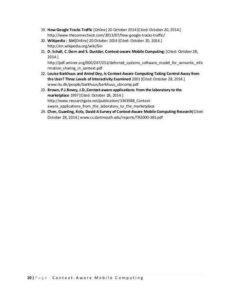 research paper wiki literature review on