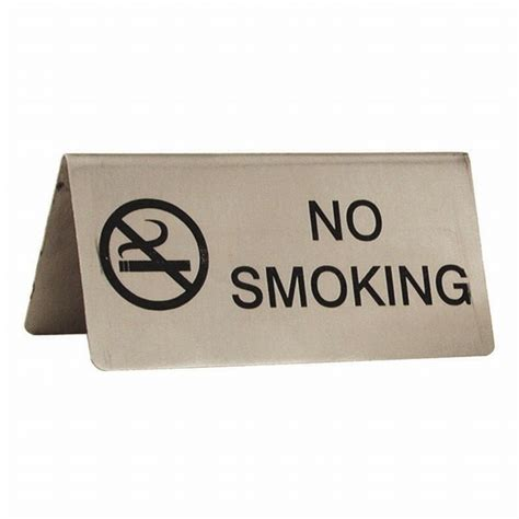 Table Signs by No Table Sign No Sign For Tables Stainless Steel No Sign