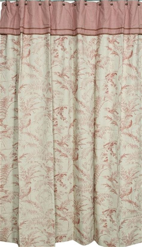 ready made bathroom curtains extra long ready made shower curtain birdsong toile traditional shower curtains