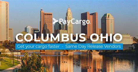 columbus ohio vendors  day release  paycargo
