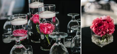 Black, White & Hot Pink Wedding at Chambers Bay   Jen's