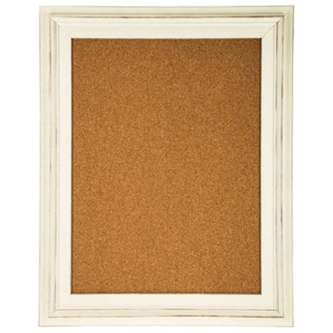 white corkboard framed wall decor hobby lobby 565994