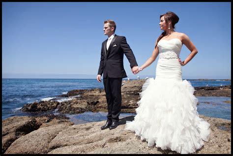 phil potis laguna beach janelle and phil trash the dress laguna beach wedding