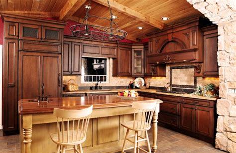 photo de cuisine am駻icaine des id 233 es de cuisine rustique moderne bricobistro