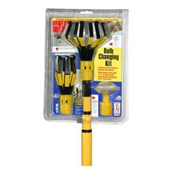 shop bayco 11 ft steel and plastic light bulb changer at