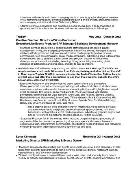 Pr Resume by Montgomery Relations Resume