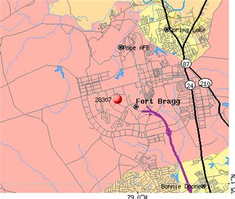 fort bragg carolina map 28307 zip code fayetteville carolina profile