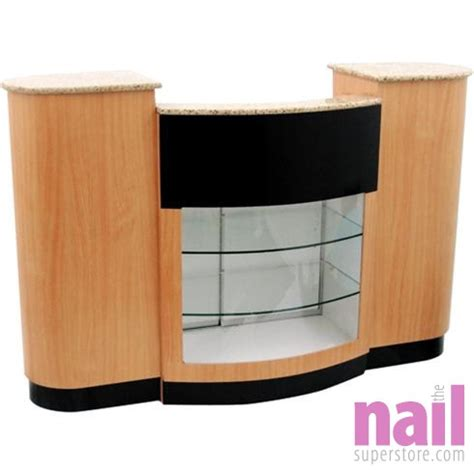 Nail Salon Reception Desk Nail Salon Furniture Gt Eurostyle Nail Salon Reception Counter Dc 200 The Nail Superstore