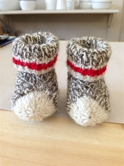 sock monkey booties knitting pattern free 301 moved permanently
