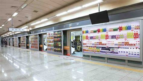 tesco homeplus subway virtual store in south korea 3