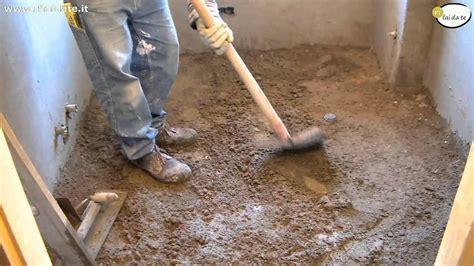 come livellare un pavimento livellare pavimento garage