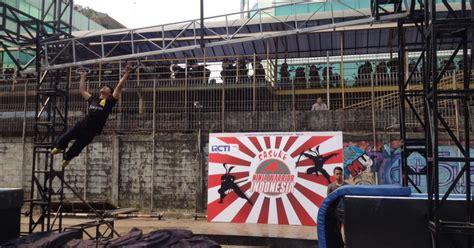 film ninja warrior sub indo menjajal rintangan ninja warrior indonesia okezone celebrity