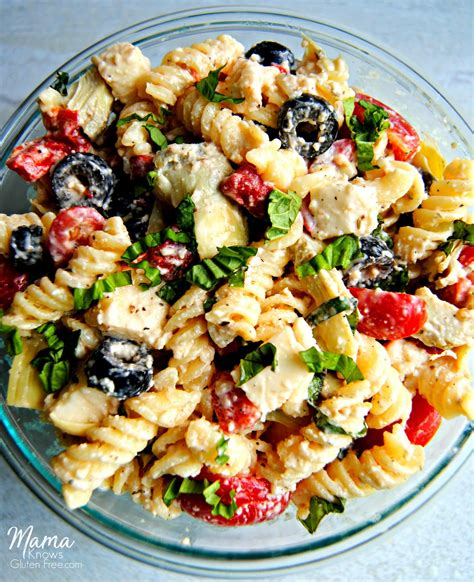 the best creamy italian pasta salad i heart recipes creamy italian pasta salad gluten free mama knows