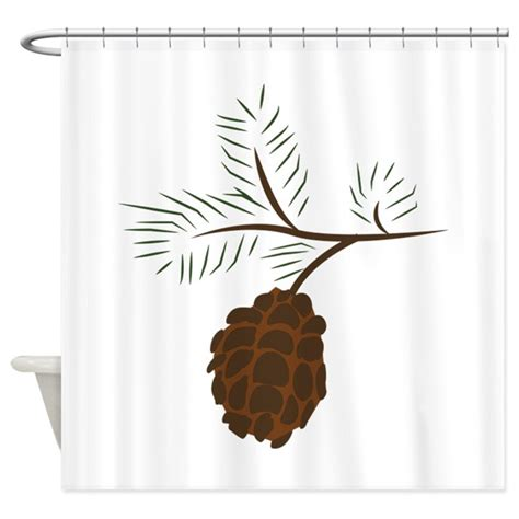 pine cone shower curtain pine cone shower curtain by annthegran10