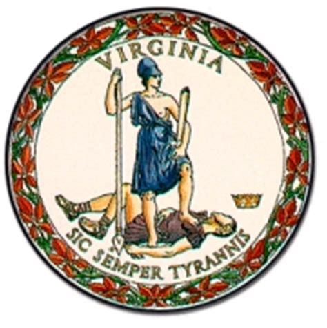 commonwealth of virginia virginia flag and description and virginia seal
