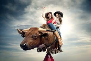 Mechanical Bull Cowgirls And Mechanical Bulls Chris Crisman Photography