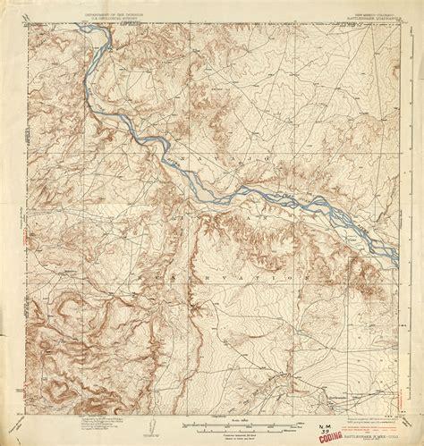 colorado topographic map free new mexico historical topographic maps perry casta 241 eda