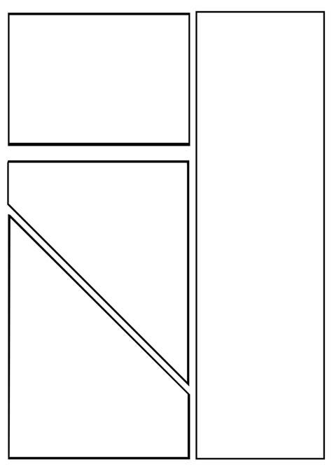 printable manga templates search results for comic strip template printable