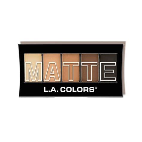 La Matte Eyeshadow Palette Brown Tweed 5 color matte eyeshadow palette l a colors