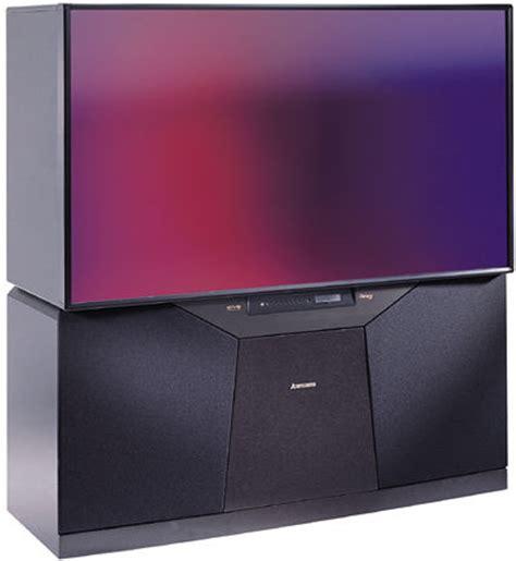mitsubishi tv mitsubishi ws 65909 high definition rptv sound vision