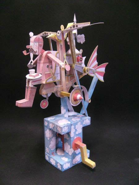 printable paper automata 53 best paper automata images on pinterest paper toys
