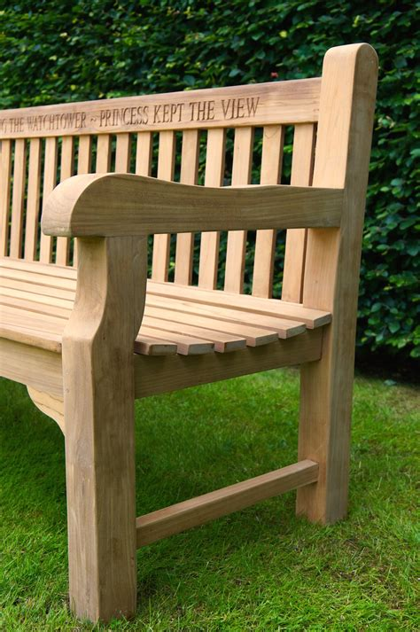 park benches uk personalised park bench makemesomethingspecial co uk