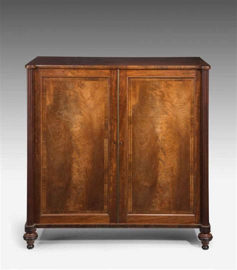Mahogany Cabinet Doors George Iii Period Mahogany Two Door Cabinet For Sale At 1stdibs