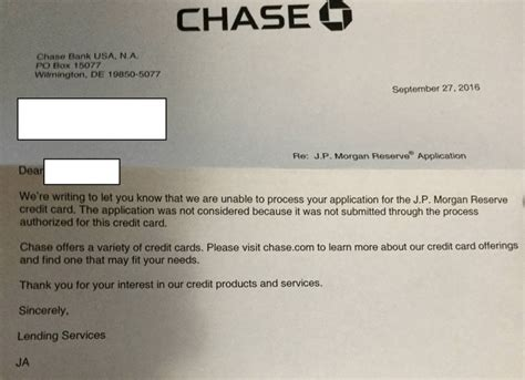 Jpmorgan Bank Letter Of Credit A Reply From For Jp Reserve Applications Doctor Of Credit