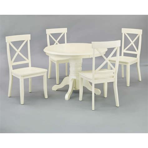 Shop Sunset Trading Antique country white dining set sears com