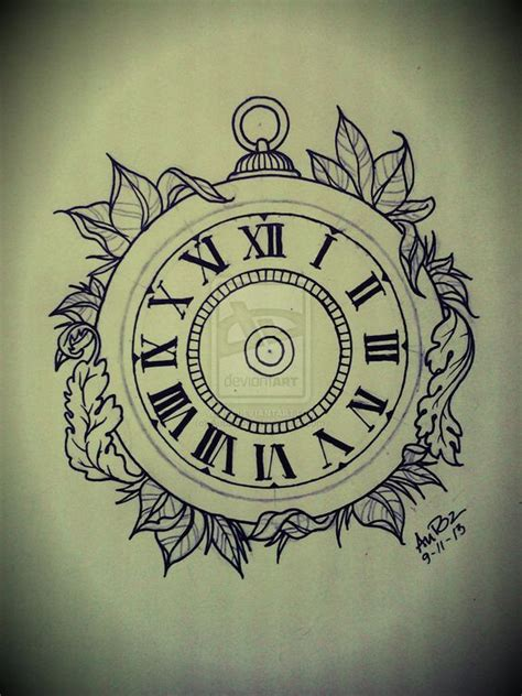 pocket watch tattoo design google keres 233 s beauties