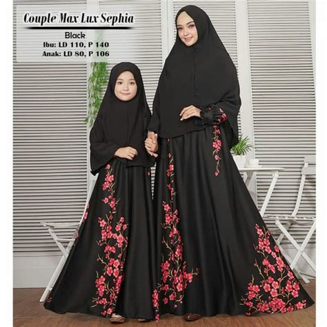 Khimar Bahan Maxmara Polos baju gamis maxmara sephia model busana muslim