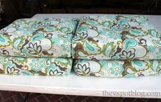 Fabric For Patio Cushions teal and brown paisley viewing gallery