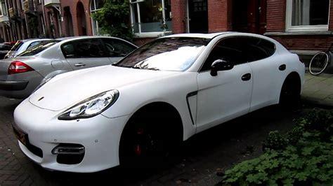 Porsche Panamera Turbo White by Matte White Porsche Panamera Turbo Walkaround Youtube