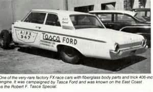 Tasca Ford Tasca Ford Vintage Drag Racing