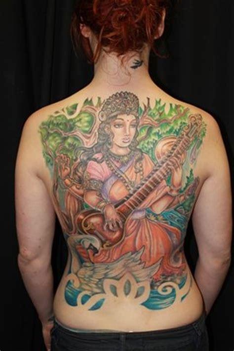 saraswati tattoo designs saraswati tattoos s tattoos saraswati back