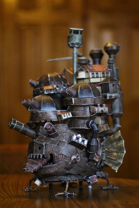 Howls Moving Castle Papercraft - howl s moving castle papercraft imgur papercraft