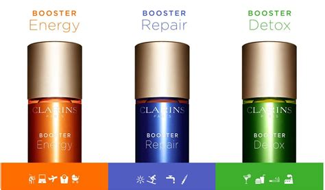 Clarins Booster Detox How To Use by Clarins Introduces Boosters Range News Beautyalmanac
