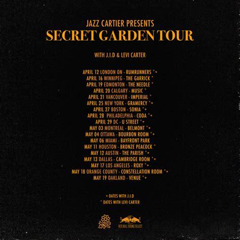 secret tour jazz cartier plots quot secret garden tour quot