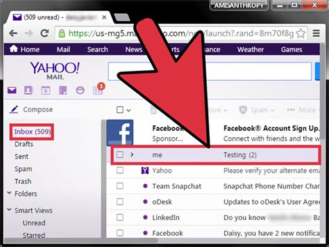 How To Search Yahoo Email Yahoo Mail Images