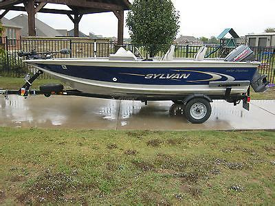 sylvan explorer boats sylvan 1600 explorer boats for sale