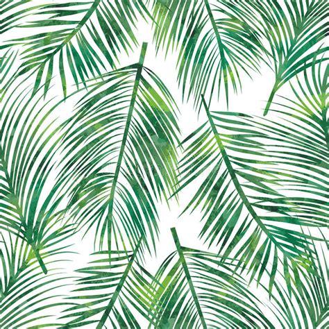 pattern bush leaf green palm leaf seamless pattern stock vector illustration of