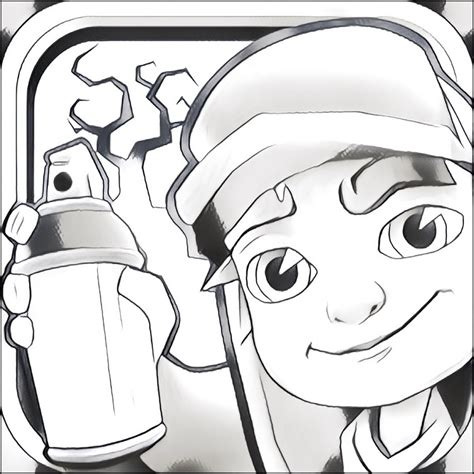 Desenho Para Colorir Subway Surfers 10 Jake And The Coloring Pages