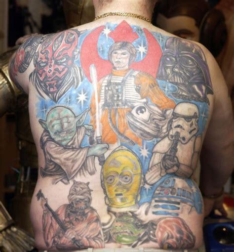 tattoo fails star wars star wars fan luke kaye has 14 tattoos and is not