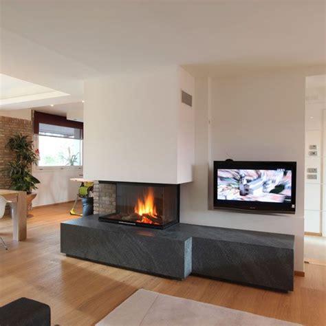 camini contemporanei caminetti moderni sisustusta living rooms