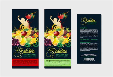 label design behance sangria label design on behance