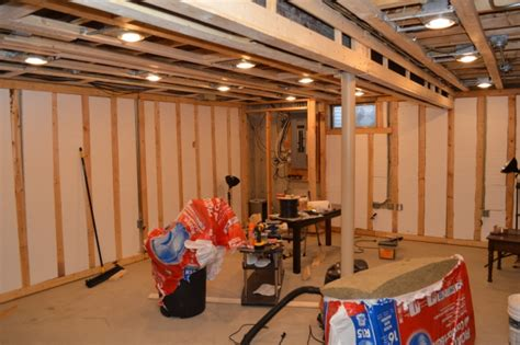 installing pot lights in basement turning a basement into a big linux server room phoronix
