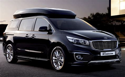 mpv car kia kia carnival hi limousine look more stunning super sport car